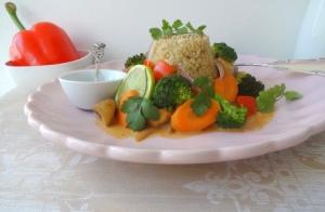 Gemüse-Curry Titel