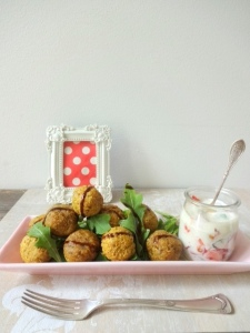 Frittierte Tofu-Bällchen 2