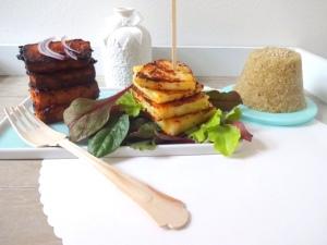 gebackener-tofu-mit-sesam-quinoa-und-ananas