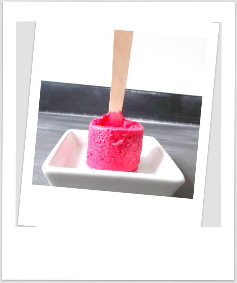 Himbeer-Eis